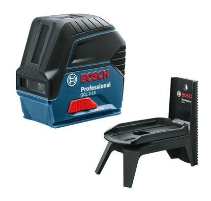 Снимка на Линеен лазер BOSCH GCL 2-15 Professional+RM1 0601066Е00