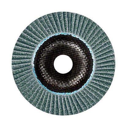 Снимка на X781 Ламелен шлифовъчен диск, Best for Metal, скосен, основа фибростъкло, 115x22.23mm, G36;Ceramic Grit Technology;2608601473