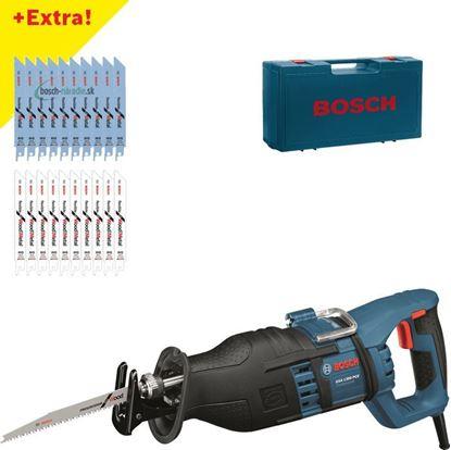 """Снимка на  Саблен трион GSA 1300 PCE Professional+10x ножа """"flexible for Metal"""" +10x ножа """"flexible for Wood and Metal"""""""