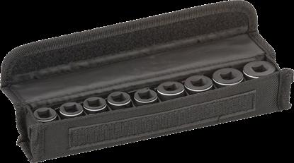 """Снимка на  Комплект вложки за глух ключ, 9 части;30 mm; 7, 8, 10, 12, 13, 15, 16, 17, 19 mm;3/8"""";2608551098"""