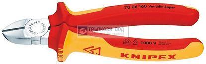 Снимка на Клещи резачки KNIPEX 160 VDE;7006160