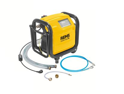 Снимка на Електронна помпа за промиване и изпитване под налягане REMS Multi-Push SL Set,безмаслен компресор,115610