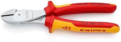 Снимка на Клещи-странична резачка Knipex,200 mm,VDE1000,7406200